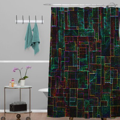 Jacqueline Maldonado Matrix Shower Curtain