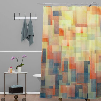 Jacqueline Maldonado Cubism Dream Shower Curtain