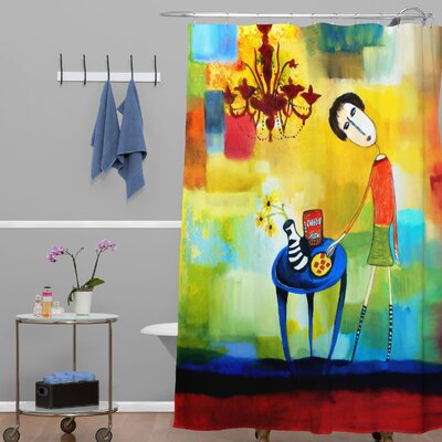 Robin Faye Gates Cheeze It Thank You Shower Curtain