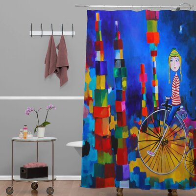 Robin Faye Gates out of Bounds Shower Curtain