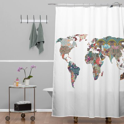 Bianca Green Louis Armstrong Told Us So Extra Long Shower Curtain