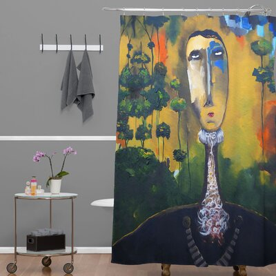 Robin Faye Gates Forest for Trees Shower Curtain