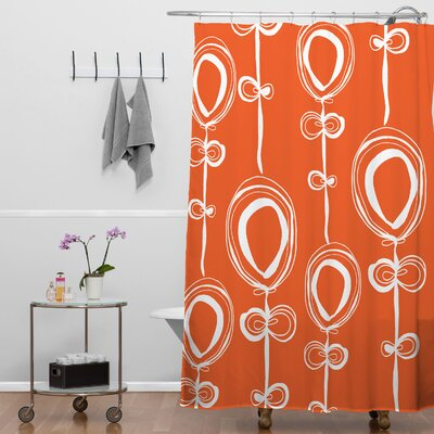 Rachael Taylor Contemporary Extra Long Shower Curtain