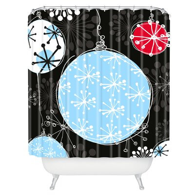 Rachael Taylor Bauble Magic Shower Curtain