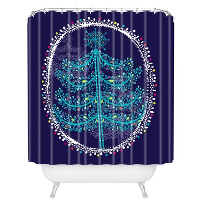 Rachael Taylor Decorative Tree Shower Curtain