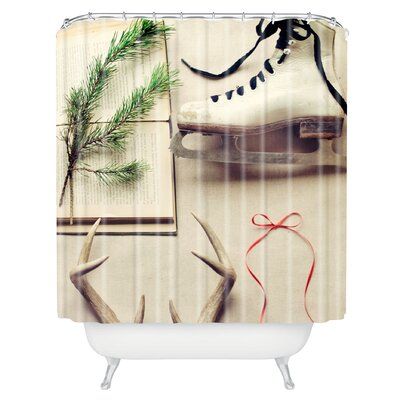 The Light Fantastic Christmas Card Shower Curtain
