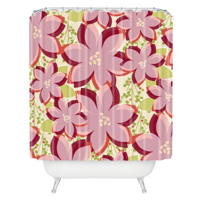 Andrea Victoria Twinkle and Shine Shower Curtain