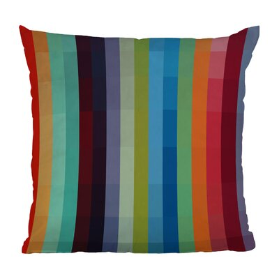 Madart Inc Throw Pillow Size: 16 H x 16 W