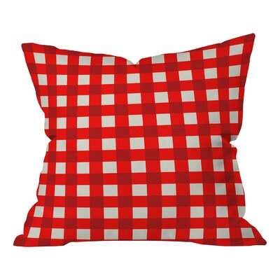 Holli Zollinger Gingham Throw Pillow Size: Large