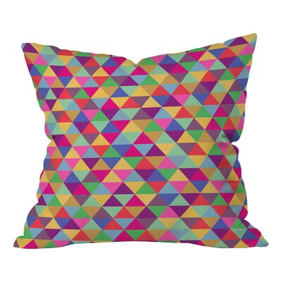 Bianca Green Throw Pillow Size: 16 H x 16 W