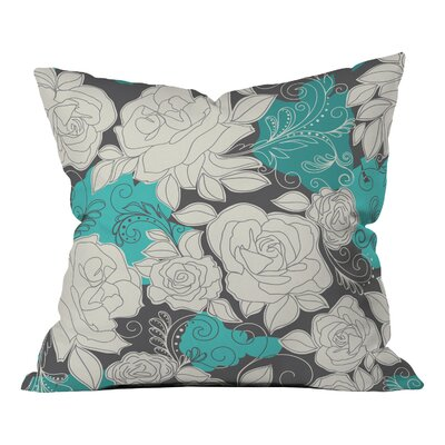 Khristian A Howell Rendezvous Throw Pillow Size: 18 H x 18 W, Color: Blue