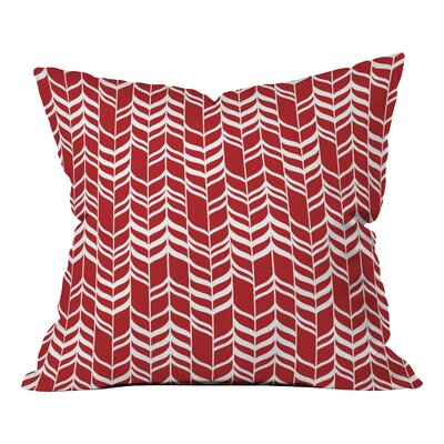 Andrea Victoria Jolly Throw Pillow Size: 26 H x 26 W x 7 D