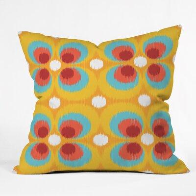 Steven Scott Bubbles and Butterflies Indoor/outdoor Throw Pillow Size: 18 H x 18 W x 5 D