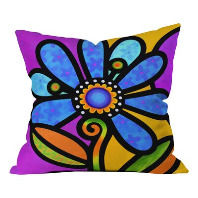 Steven Scott Indoor/Outdoor Throw Pillow Color: Blue, Size: 20 H x 20 W