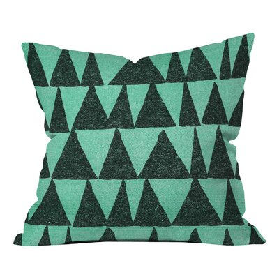 Nick Nelson Analogous Shapes Indoor/Outdoor Throw Pillow Size: 26 H x 26 W x 7 D