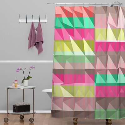 Jacqueline Maldonado Pyramid Scheme Shower Curtain