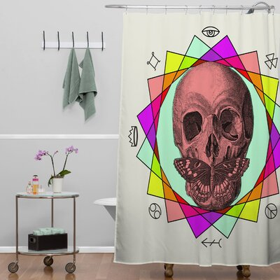 Wesley Bird True Sign Art Shower Curtain