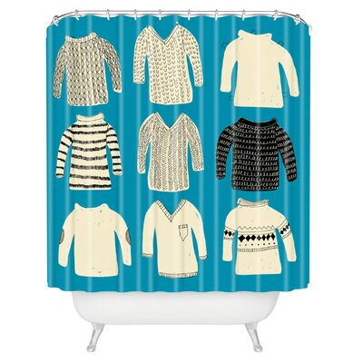 Mummysam Sweaters Shower Curtain