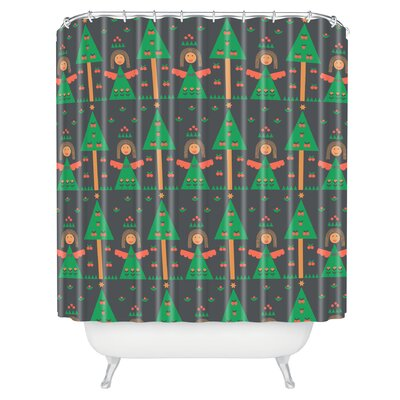 Gabriela Larios Angels Shower Curtain