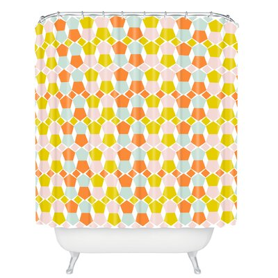Hello Twiggs Bring Summer Shower Curtain