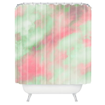 Caleb Troy Pastel Christmas Shower Curtain