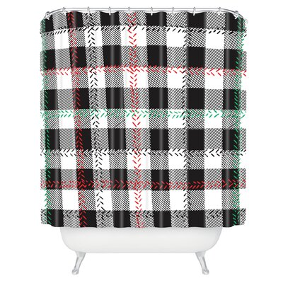 Zoe Wodarz Cozy Cabin Shower Curtain