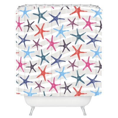 Zoe Wodarz Star Fish Shower Curtain