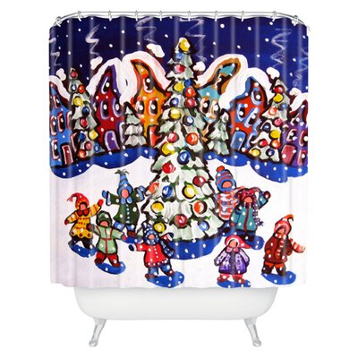 Renie Britenbucher Oh Christmas Tree Shower Curtain