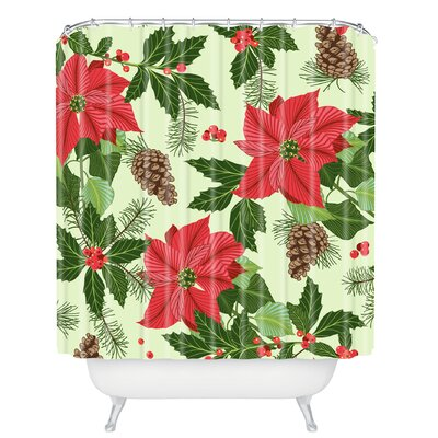 Sabine Reinhart Christmas Ballad Shower Curtain