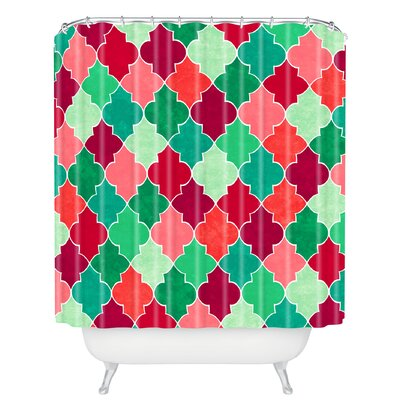 Jacqueline Maldonado Morocco Christmas Shower Curtain