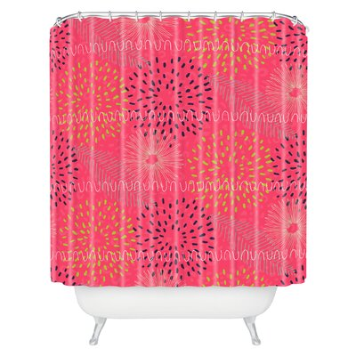 Kerrie Satava Surprise Bloom Shower Curtain