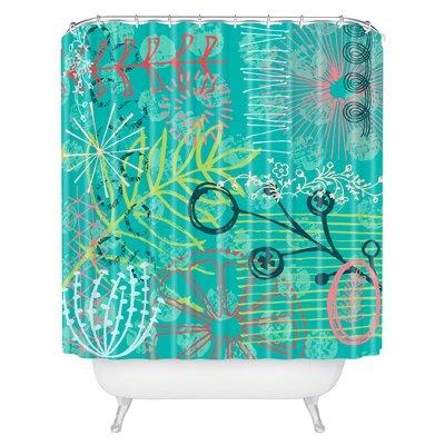 Kerrie Satava Summer Burst Shower Curtain