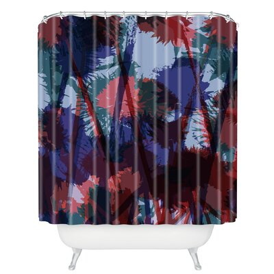 Sarah Bagshaw Thistles Shower Curtain