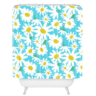Zoe Wodarz Daisy Do Right Shower Curtain