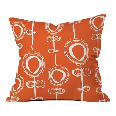 Rachael Taylor Contemporary Throw Pillow Size: 18 H x 18 W
