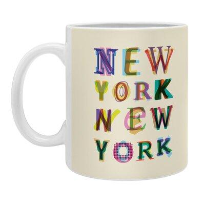 DENY Designs Fimbis New York New York Coffee Mug 51437-MUGSMA