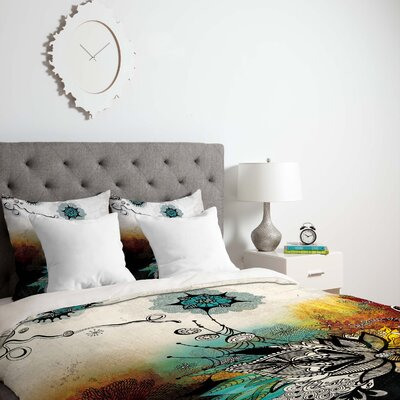 Duvet Cover Size: King, Fabric: Lightweight