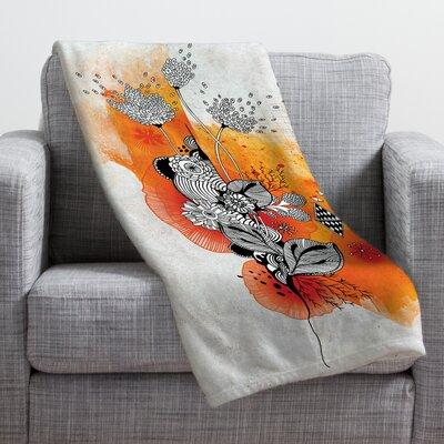Iveta Abolina Forbbiden Thoughts Throw Blanket Size: Medium