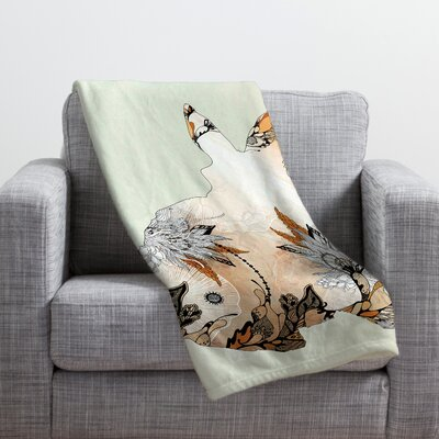 Iveta Abolina Little Rabbit Throw Blanket Size: Medium