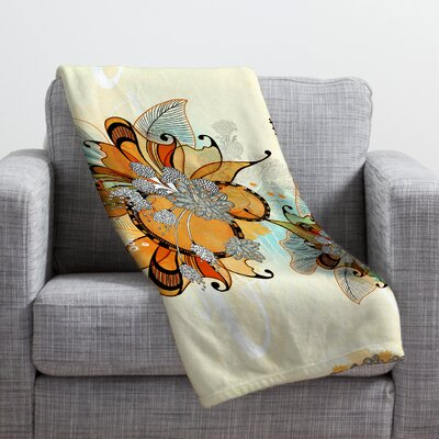 Iveta Abolina Sunset 2 Throw Blanket Size: Small