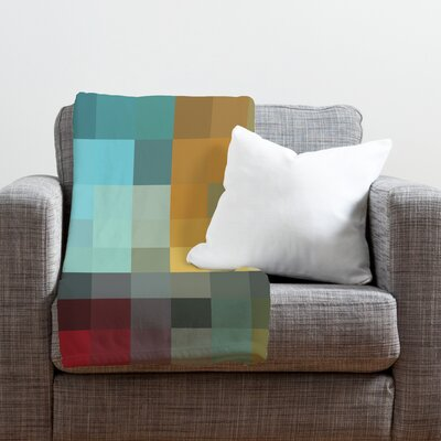 Madart Inc. Refreshing 2 Throw Blanket Size: Medium