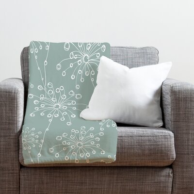 Rachael Taylor Quirky Motifs Throw Blanket Size: Large