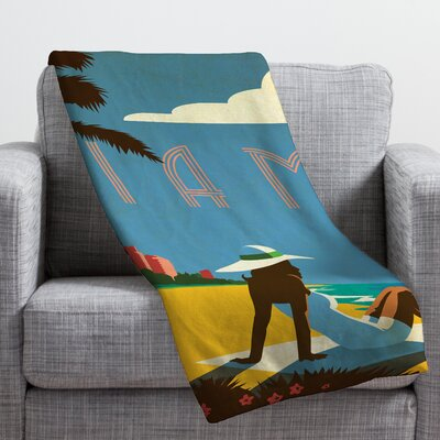 Anderson Design Group Miami Throw Blanket Size: Large
