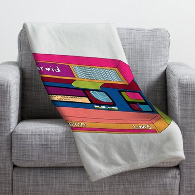 Bianca Green Captures Great Moments Throw Blanket Size: Large