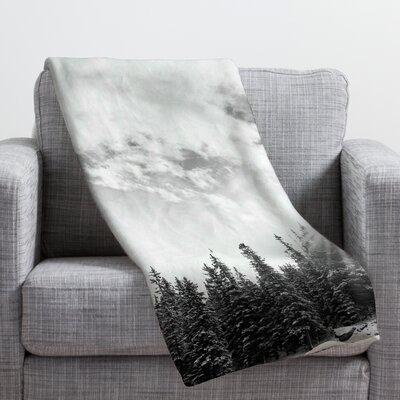 Bird Wanna Whistle White Mountain Throw Blanket Size: Medium