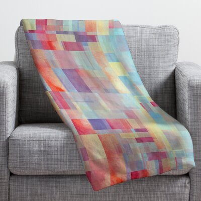 Jacqueline Maldonado Shapeshifter Throw Blanket Size: Small