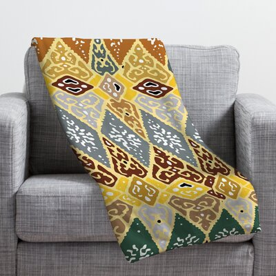 Romi Vega Diamond Tile Throw Blanket Size: Medium