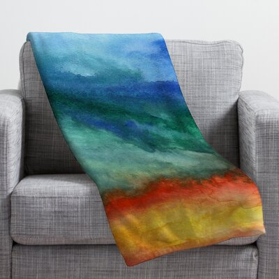 Jacqueline Maldonado Leaving California Throw Blanket Size: Small