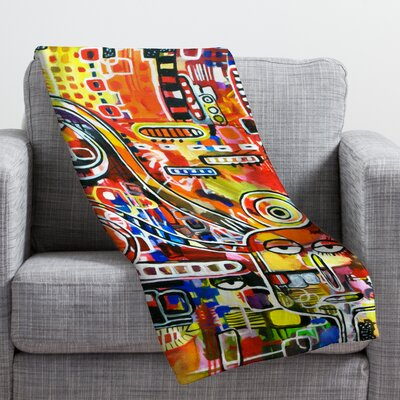 Robin Faye Gates It Came from Detroit Throw Blanket Size: Medium