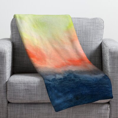 Jacqueline Maldonado Brushfire Throw Blanket Size: Large